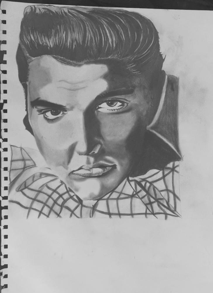 Elvis Presley par Fakdessin